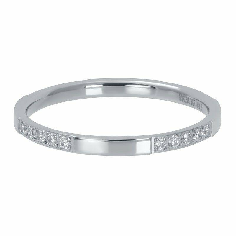 iXXXi Jewelry vulring 2mm Chic Zilver