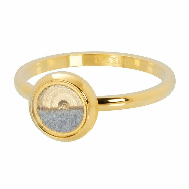 iXXXi Jewelry vulring 2mm With Sand Goud
