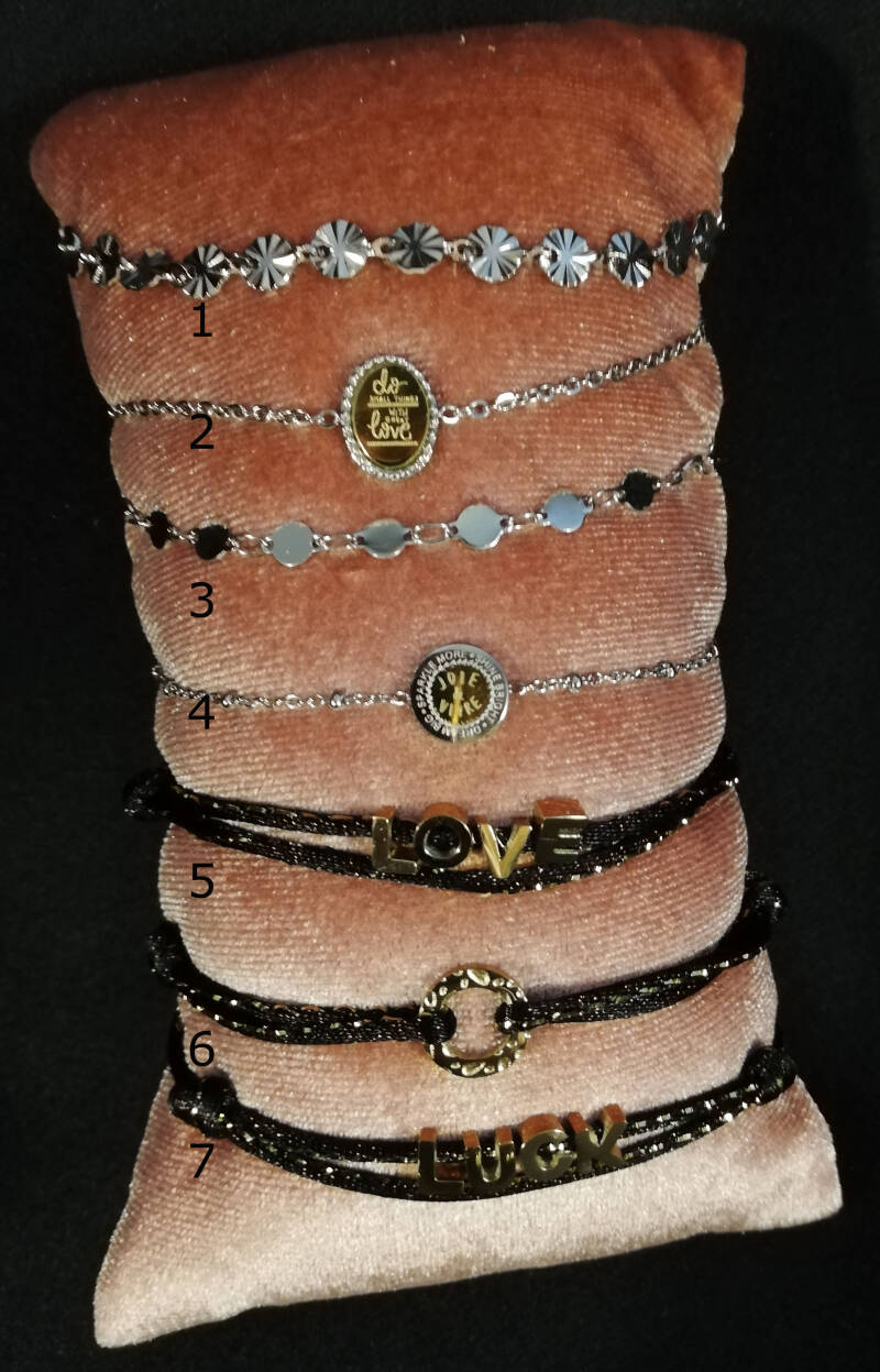 By Jam Gioielli Armbanden Zilver