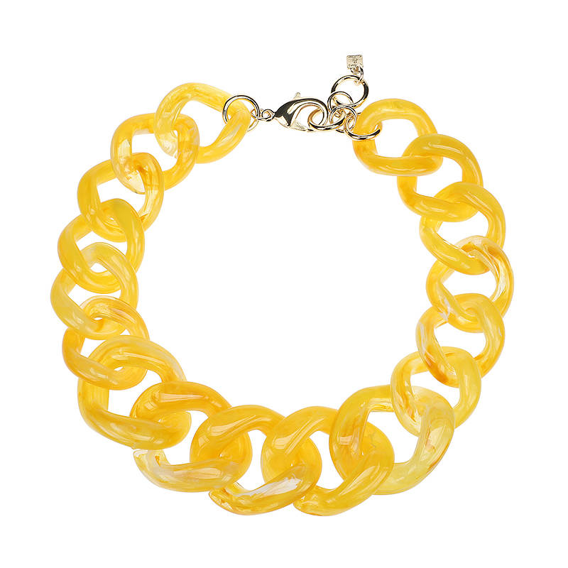 Camps & Camps Collier firefly super chunky chain