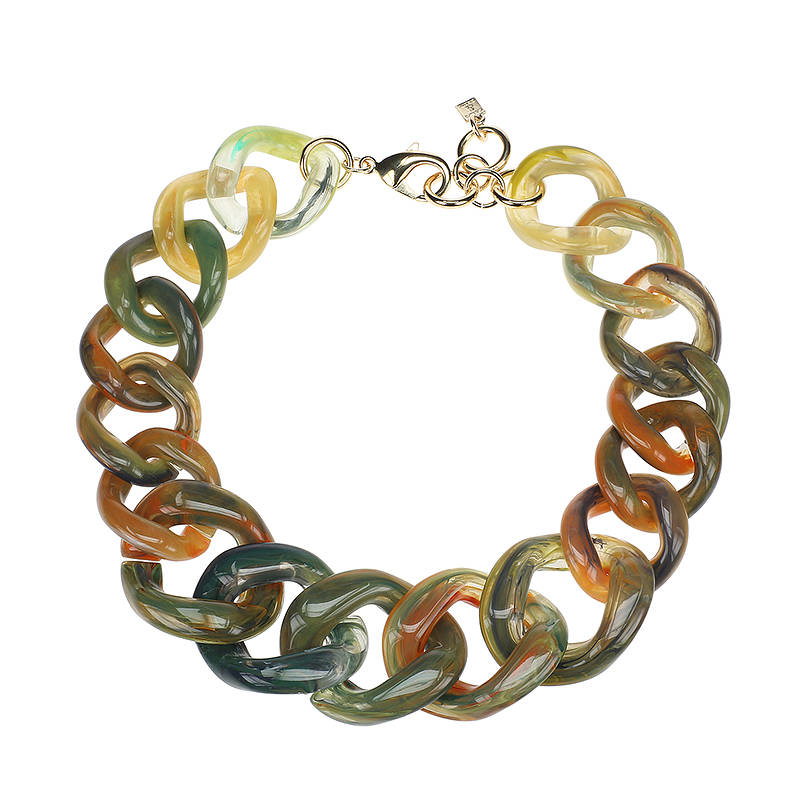 Camps & Camps Collier grasshopper super chunky chain