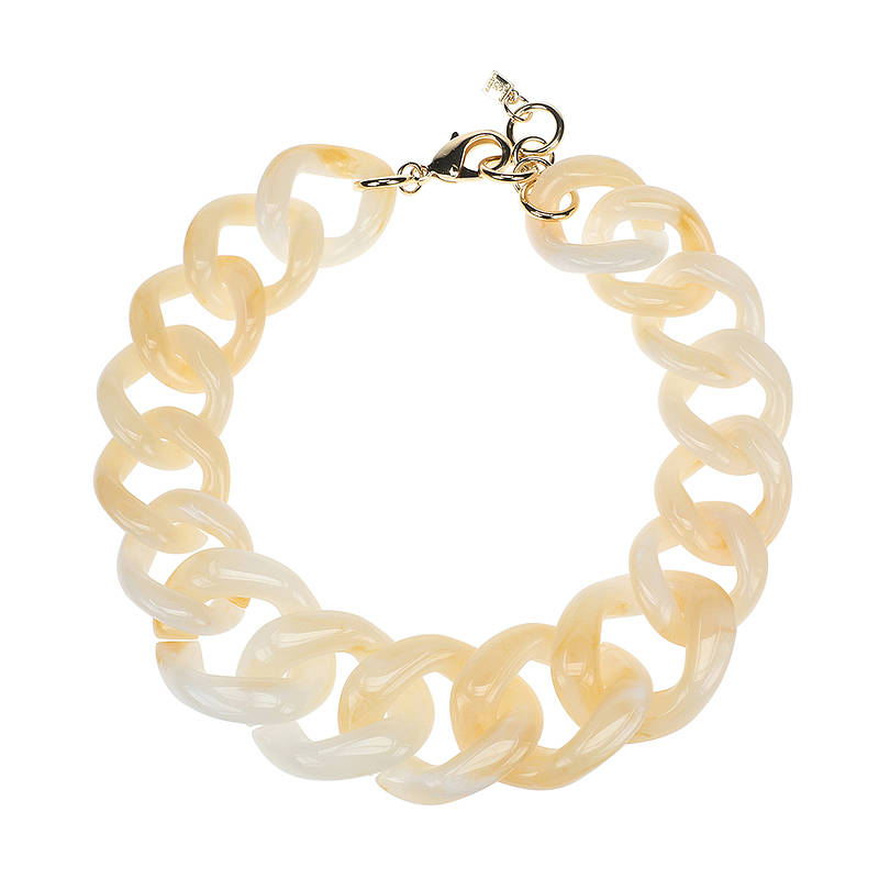 Camps & Camps Collier creamy super chunky chain