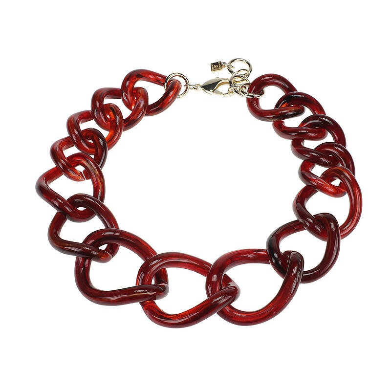 Camps & Camps Collier totally vogue burgundy chain ketting (rood)