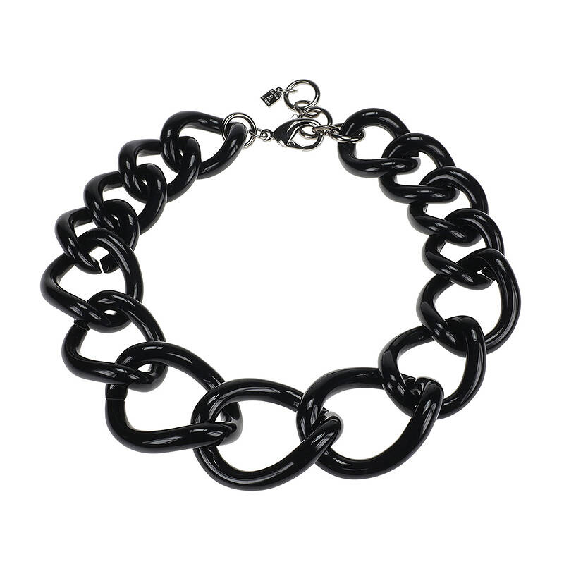 Camps & Camps Collier totally vogue raven chain ketting (zwart)