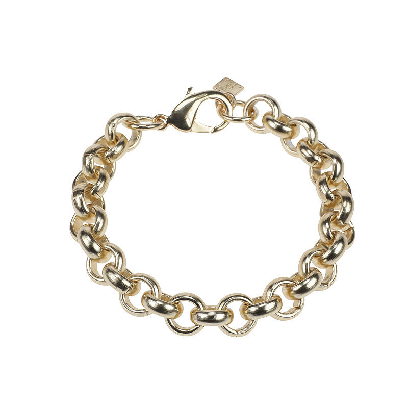 Camps & Camps Armband Gold Chain Ronde Schakel