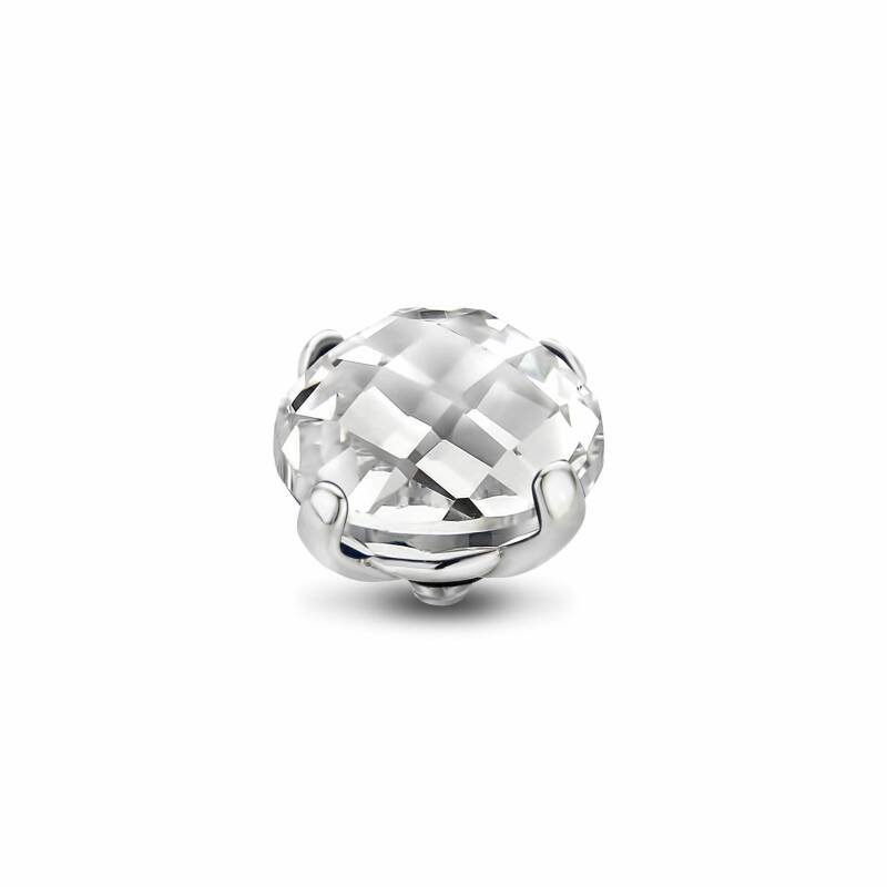 Melano Jewelry Twisted Facet Bold Steentje Crystal