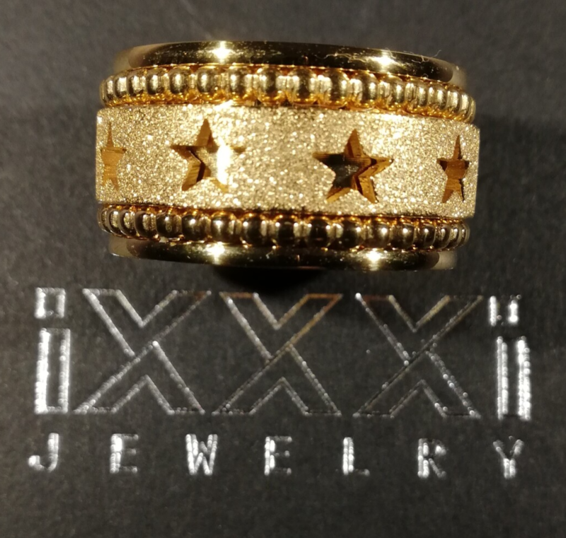 SALE iXXXi Jewelry Complete Ring 12mm Goud