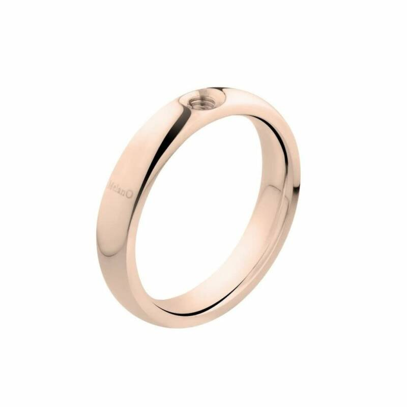 Melano Jewelry Twisted Tracy Ring Rose