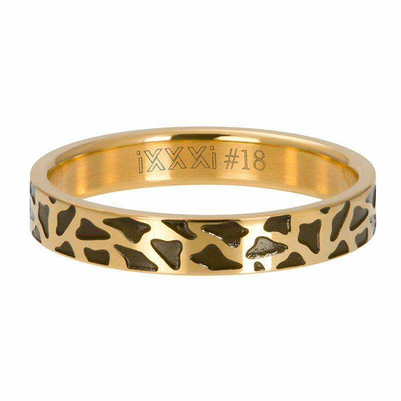 iXXXi Jewelry vulring 4mm Panther Goud