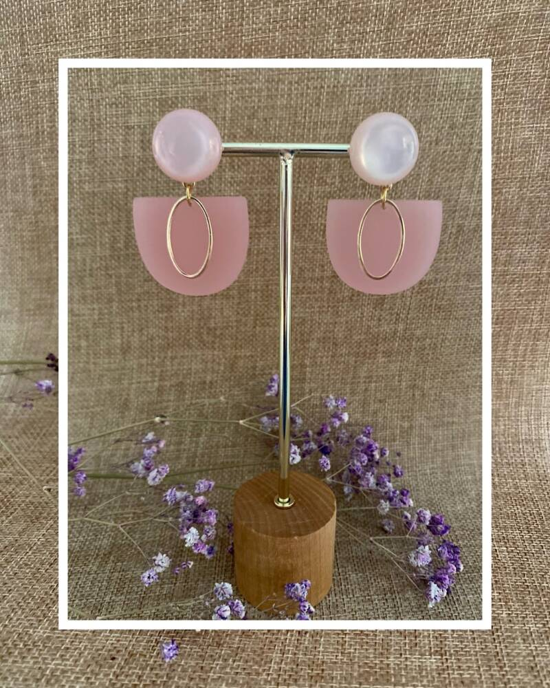 Rory Earring | Pink