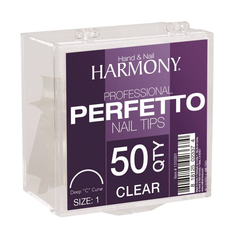 Perfetto Clear Tips Refill 50st