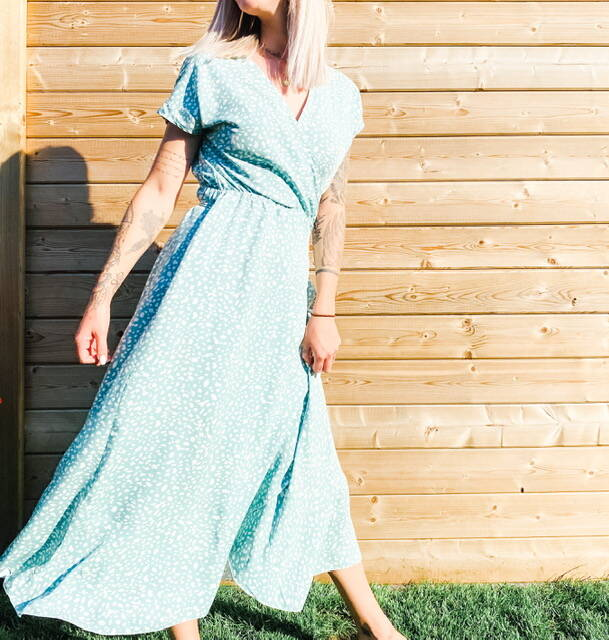 Chloe Maxi Dress Mint