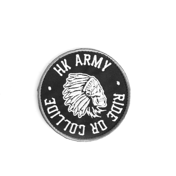 HK Army Ride or Collide Patch