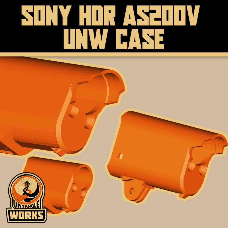 UNW SONY HDR AS200V UNW CASE