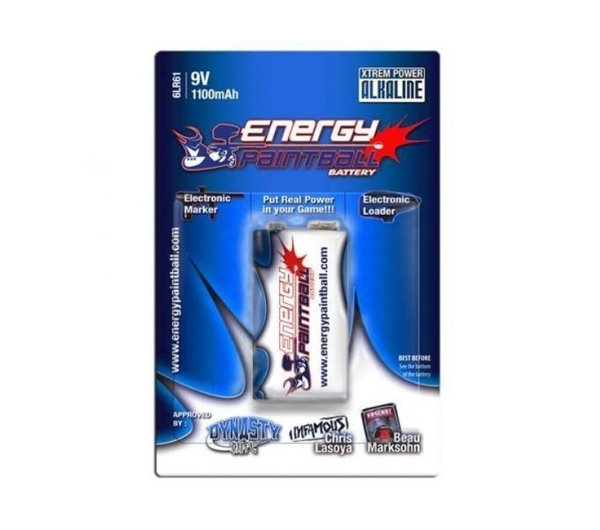 Energy Paintball 9 volt
