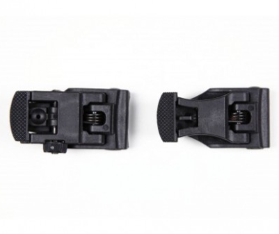 Milsig Polymer Flip Up Sights Set Black