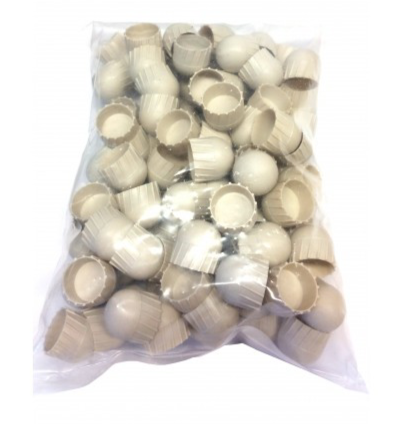 Milsig Training Finned Plastic Ball .68 Cal 100 Pack