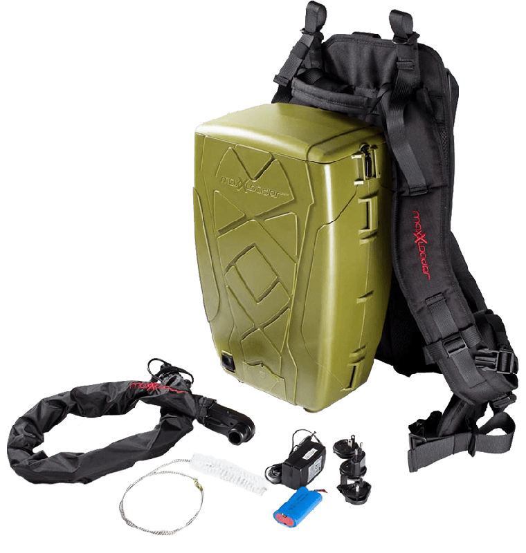 MaxXloader Paintball Back Pack Olive