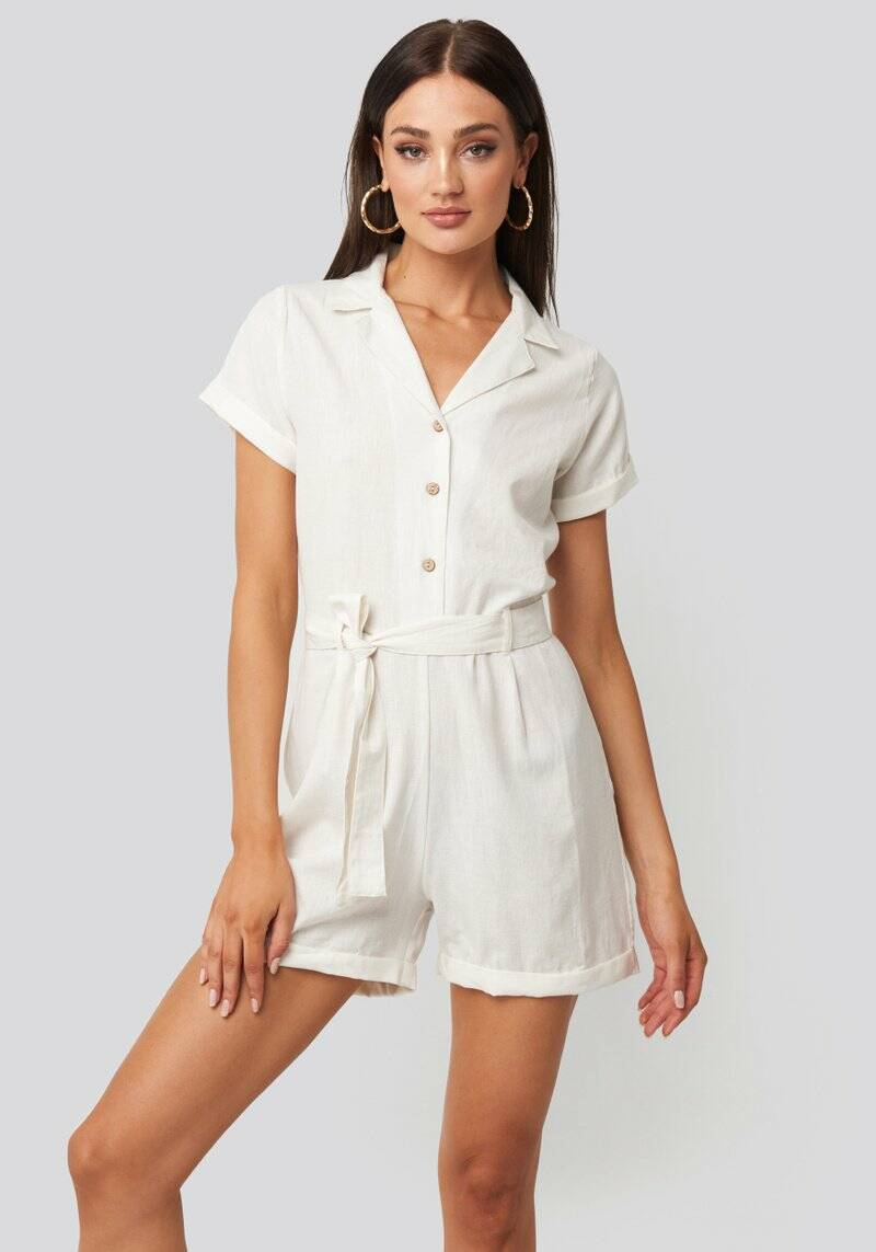 Andrea Playsuit off white