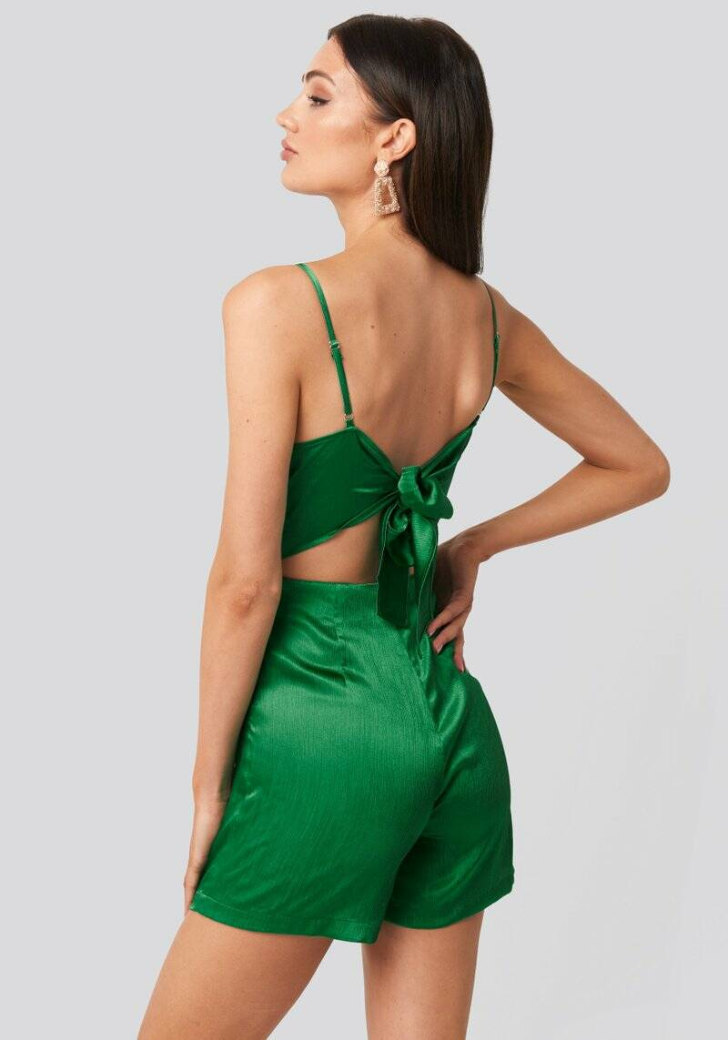 Lydia Playsuit Green