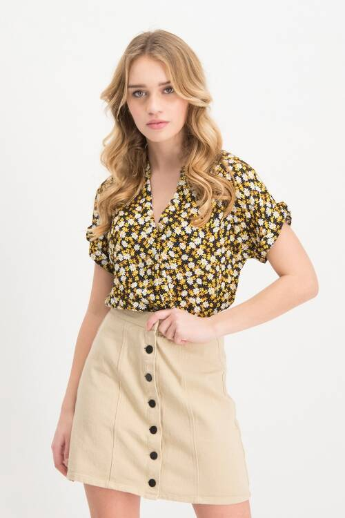 Blouse Cornelia Yellow