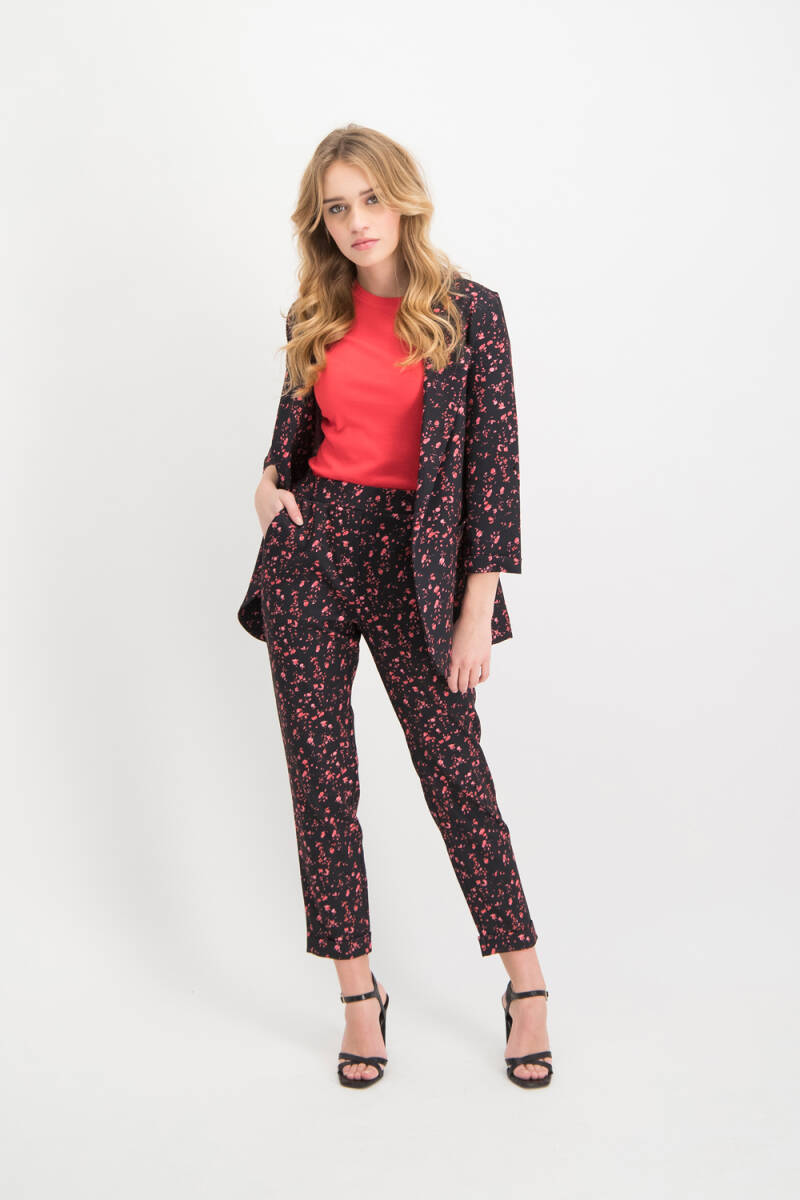 Trouser Ruby Black