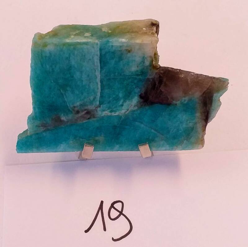 Amazonite with stand