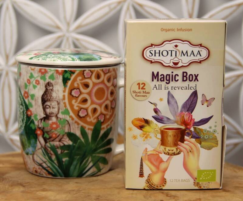 "Theemok Boedha + Assortiment thee Shotimaa ""Magic Box"""