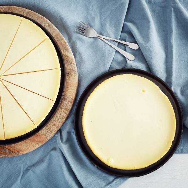 NY style cheesecake naturel
