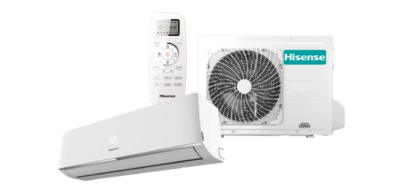 Hisense single split 2.5KW R32 WiFi ready