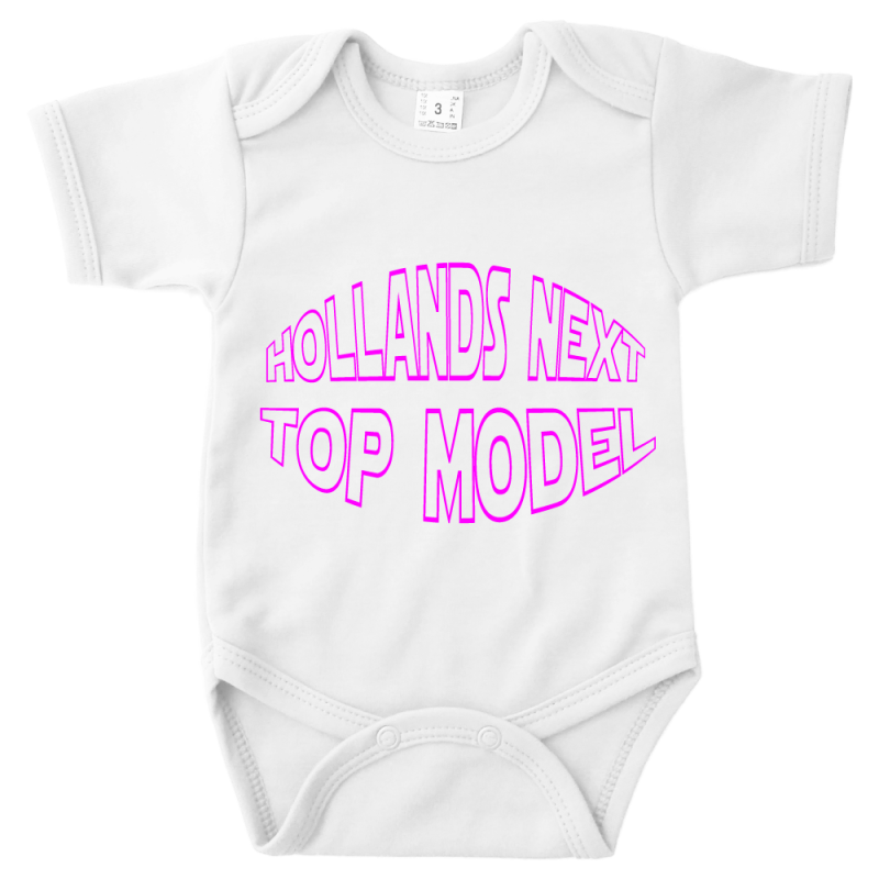 Hollands Next Top Model - romper wit