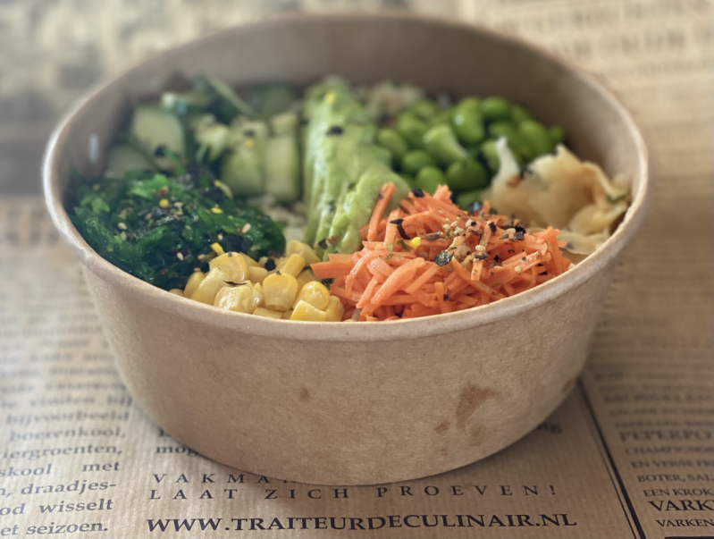 Sushi bowl (vegetarisch)