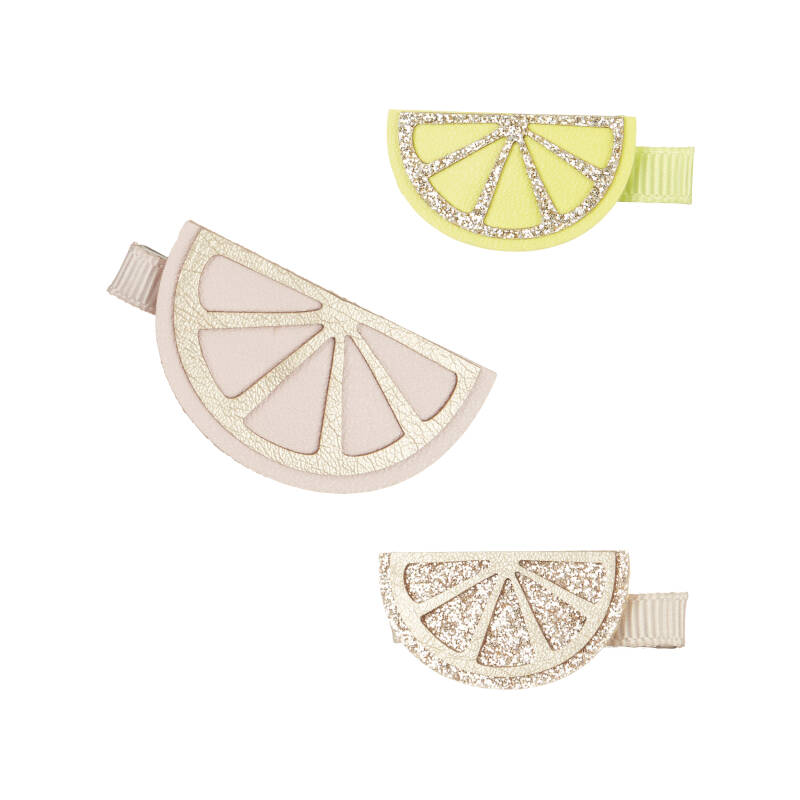 Citrus slice clips