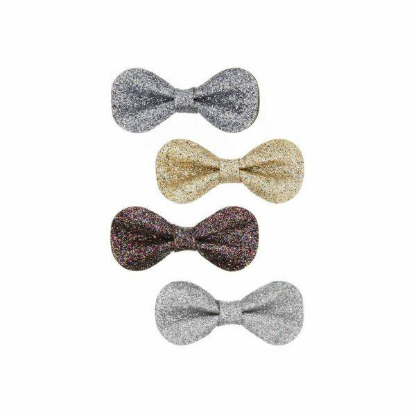 Glitter Gracie Bow Clips