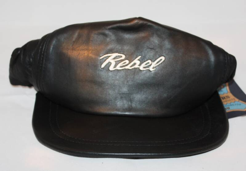 CAPS-568 - Leren Cap Honda Rebel (pet)