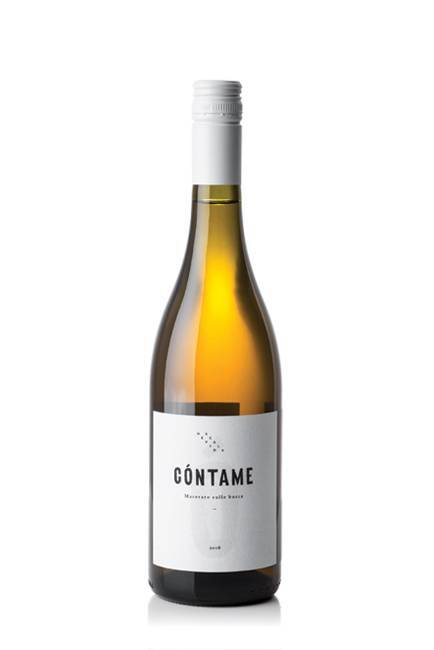 Garganega - Cóntame white macerated oranje wijn van Nevio Scala