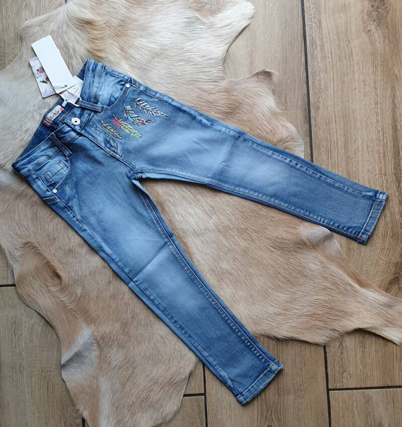 Jeans feather