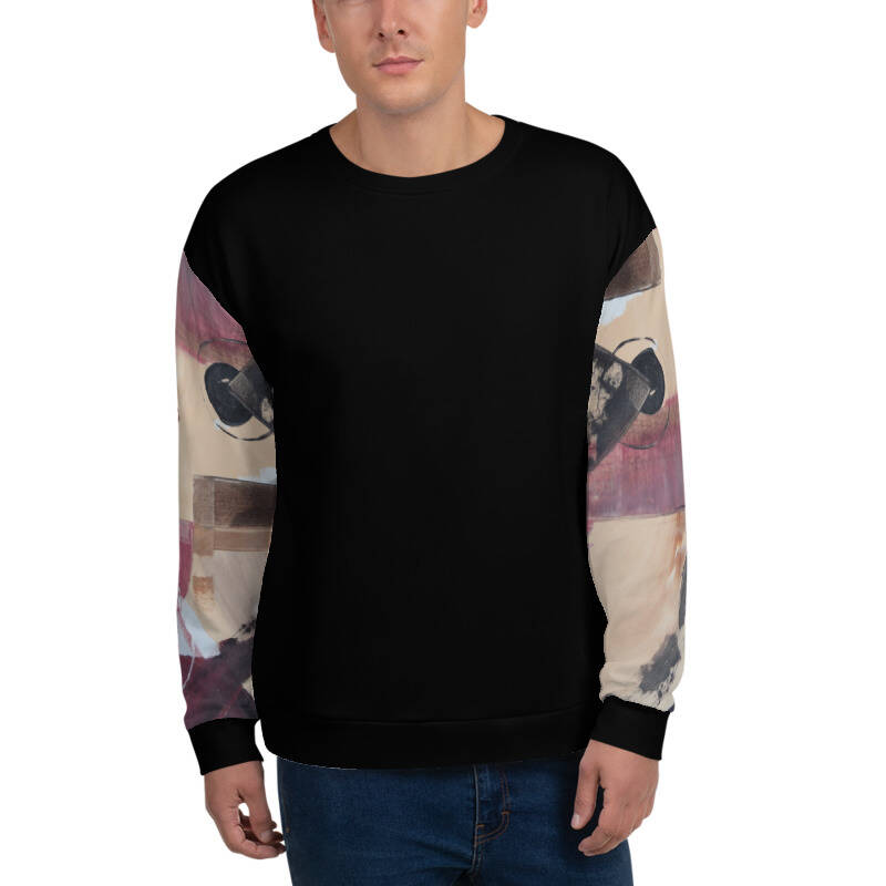 LIEVIX Art-line sleeve sweatshirt