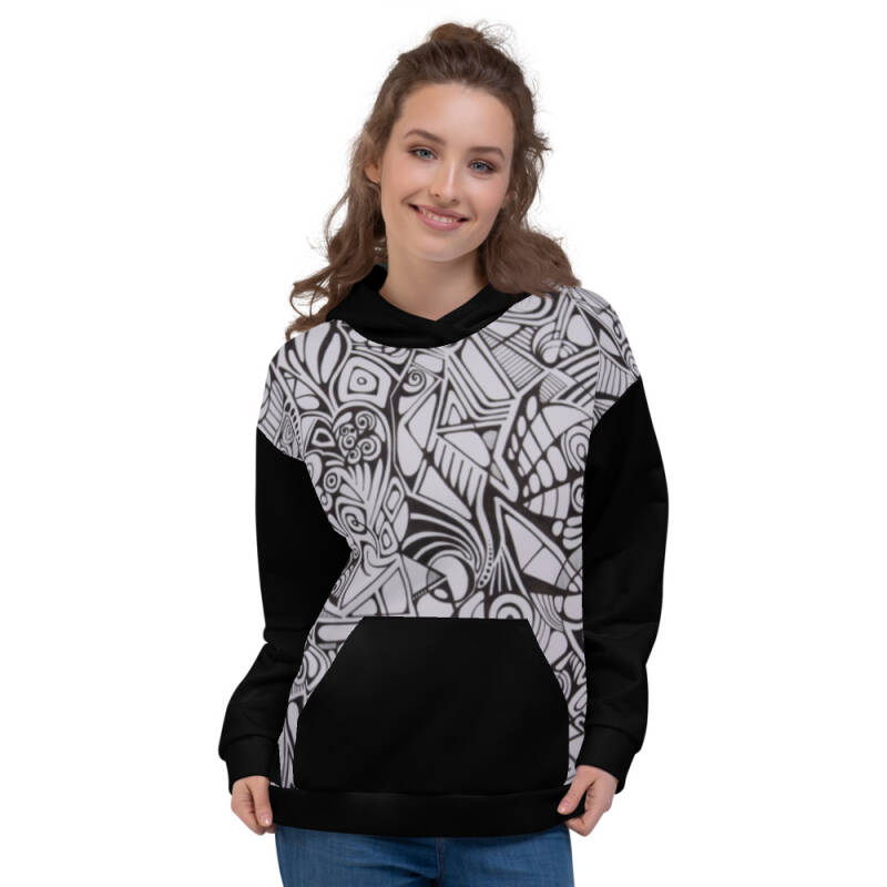 Lievix Trible-line full hoodie