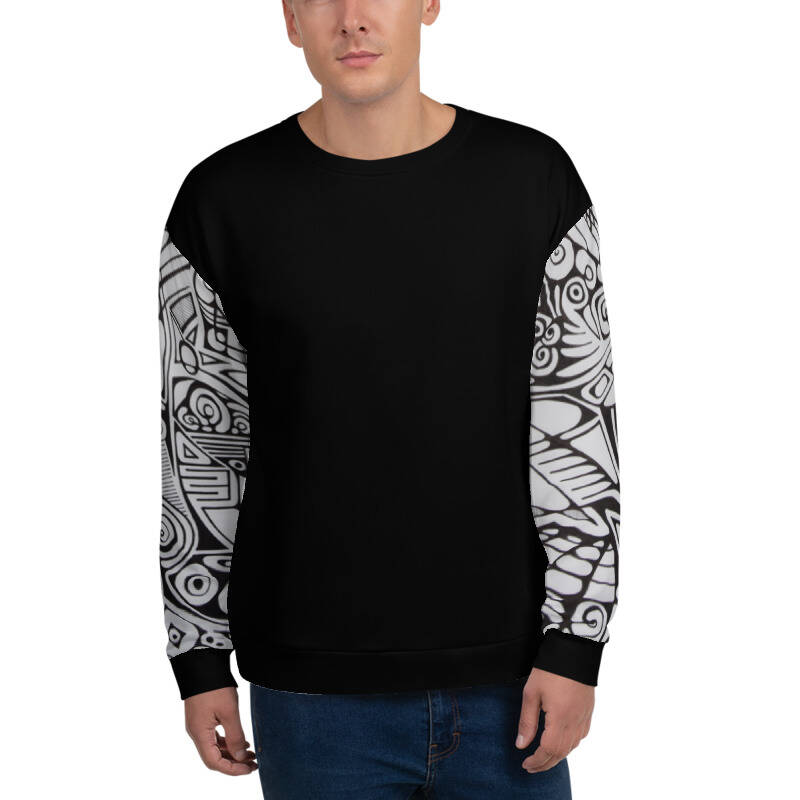 LIEVIX Trible-line sleeve sweatshirt