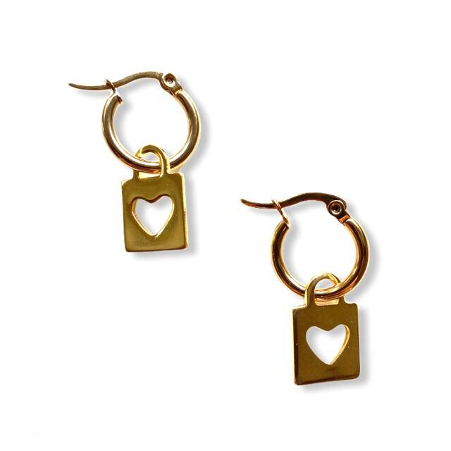 Locker Earrings