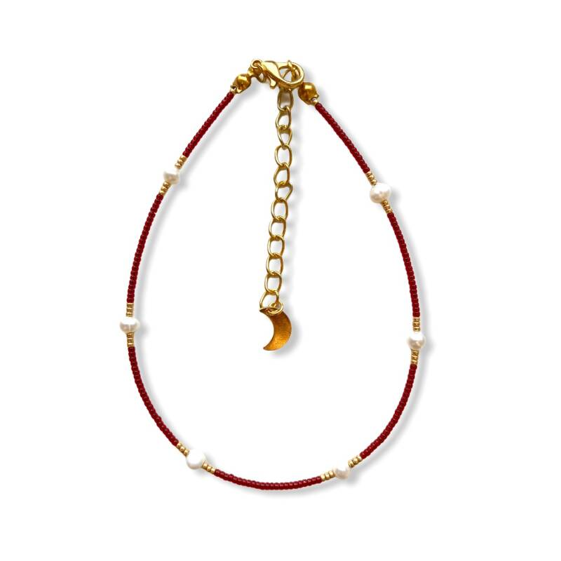 Dainty Pearls Anklet