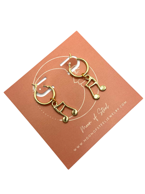 Note Mix & Match Earrings