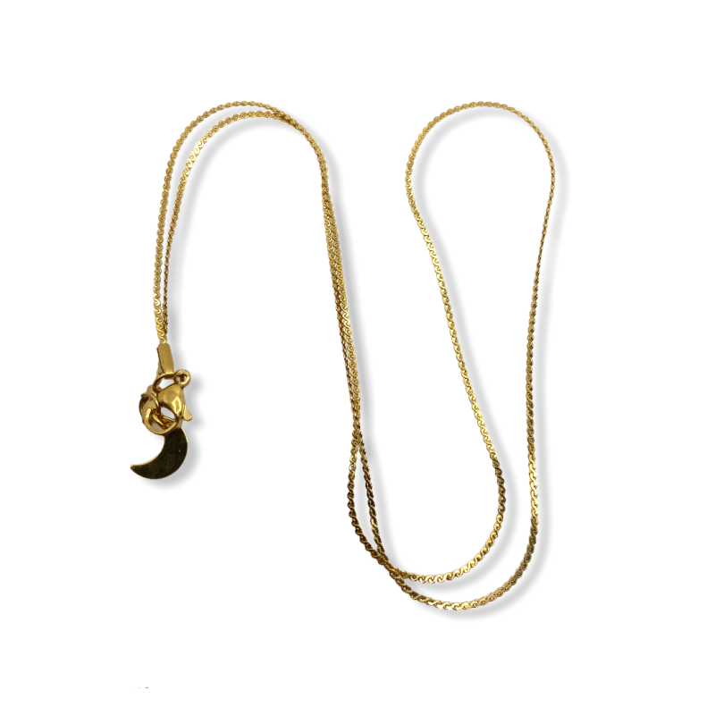 Thin Waves Necklace