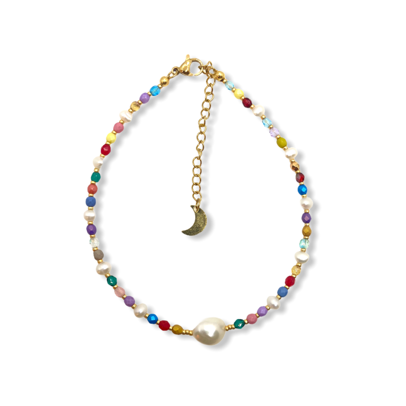 Pretty One Pearls Anklet