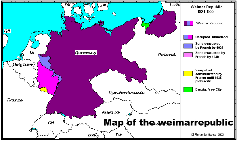 the weimar republic a hope given to germany