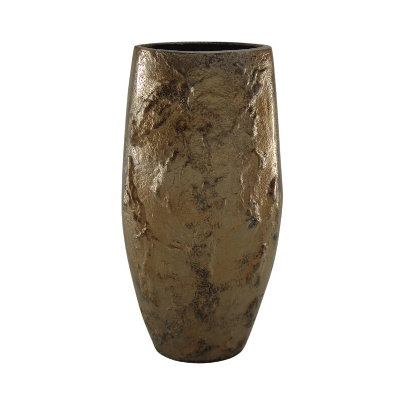 Oval vase 45cm oud messing
