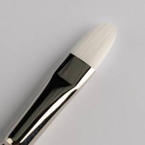 Nick Wolfe Filbert brush # 12