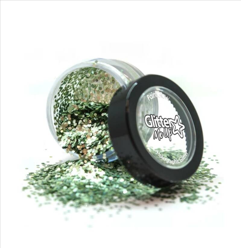 Medium chunky Glitter Biodegradable Green 6 ml