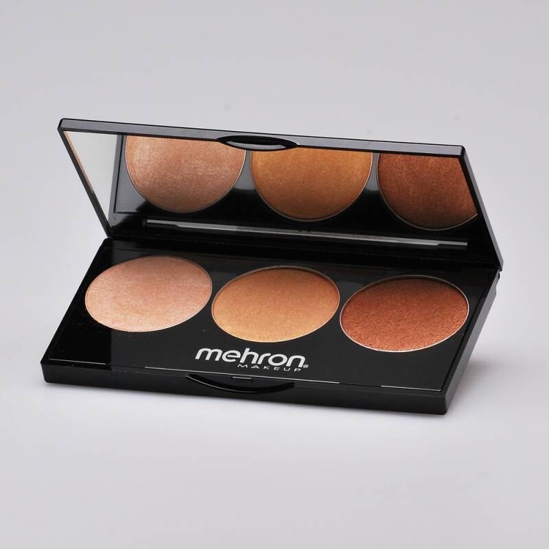 Mehron Highlight Palette - Warm
